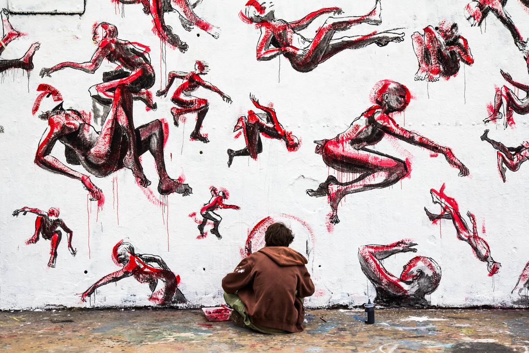 Wallspot - JOAN PIÑOL - JOAN PIÑOL - Projecte 27/05/2018 - Barcelona - Tres Xemeneies - Graffity - Legal Walls - Illustration - Artist - @Axeldraw