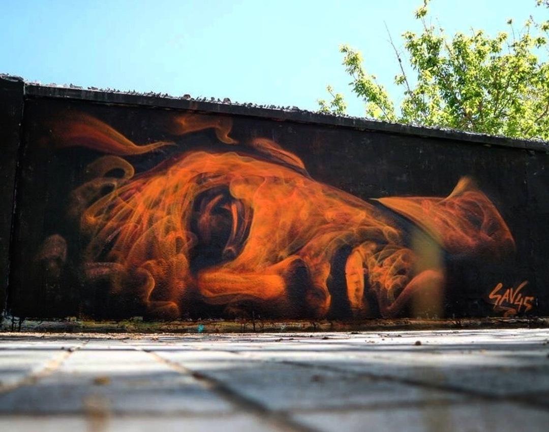 Wallspot - savf - Agricultura -  - Barcelona - Agricultura - Graffity - Legal Walls - Il·lustració, Altres