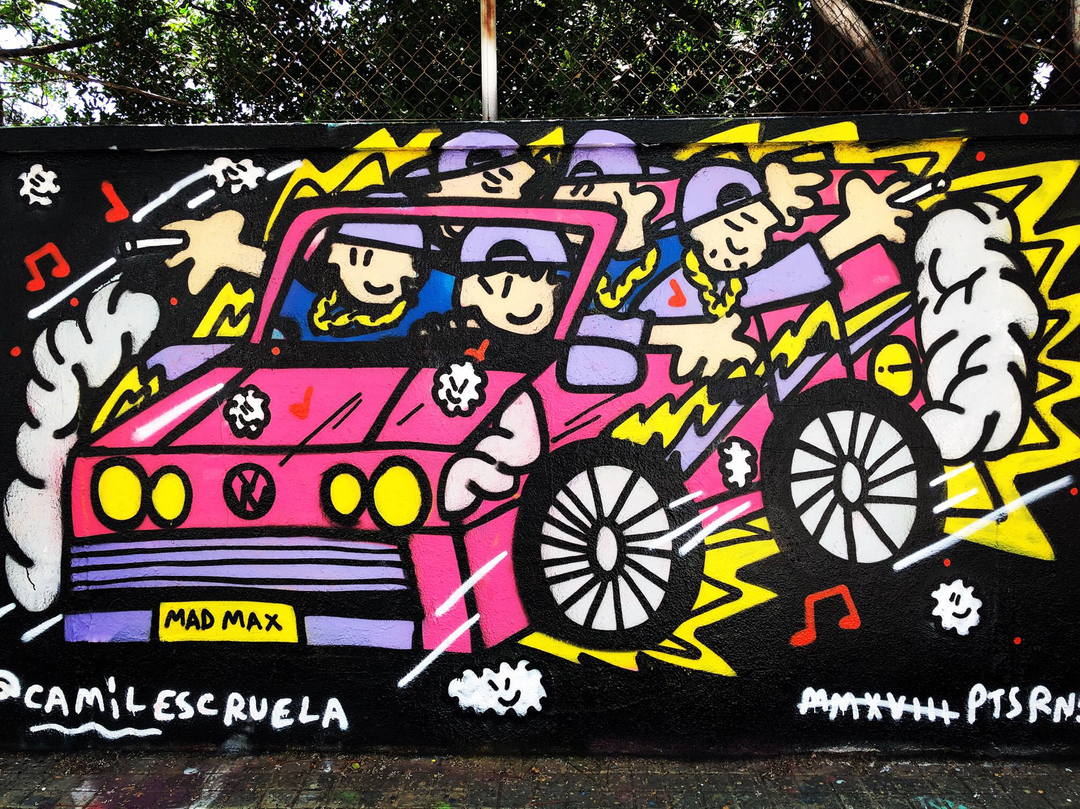 Wallspot - kamil escruela - rally trap - Barcelona - Agricultura - Graffity - Legal Walls -