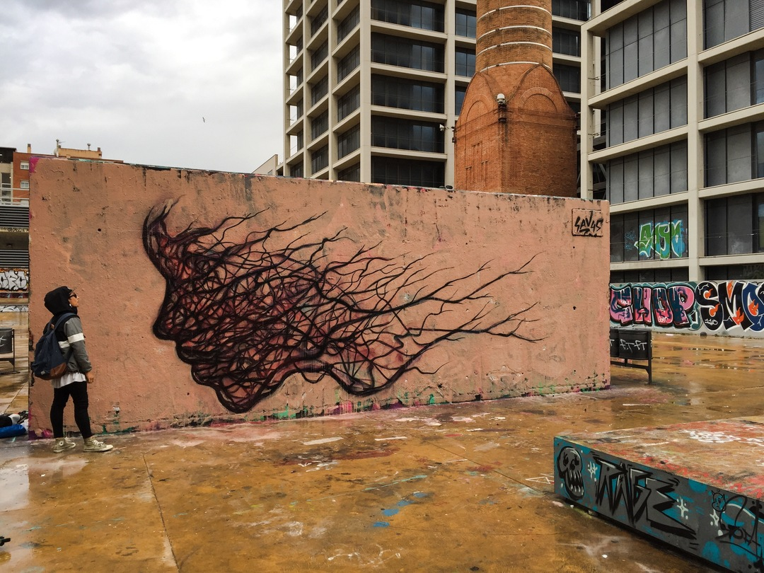 Wallspot - savf - Tres Xemeneies - savf - Barcelona - Tres Xemeneies - Graffity - Legal Walls -