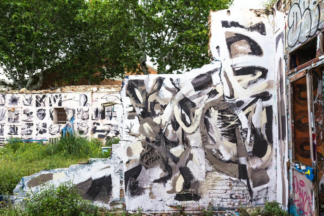 Wallspot - JOAN PIÑOL - JOAN PIÑOL - Project 04/06/2018 - Barcelona - Western Town - Graffity - Legal Walls -  - Artist - albertodeblobs