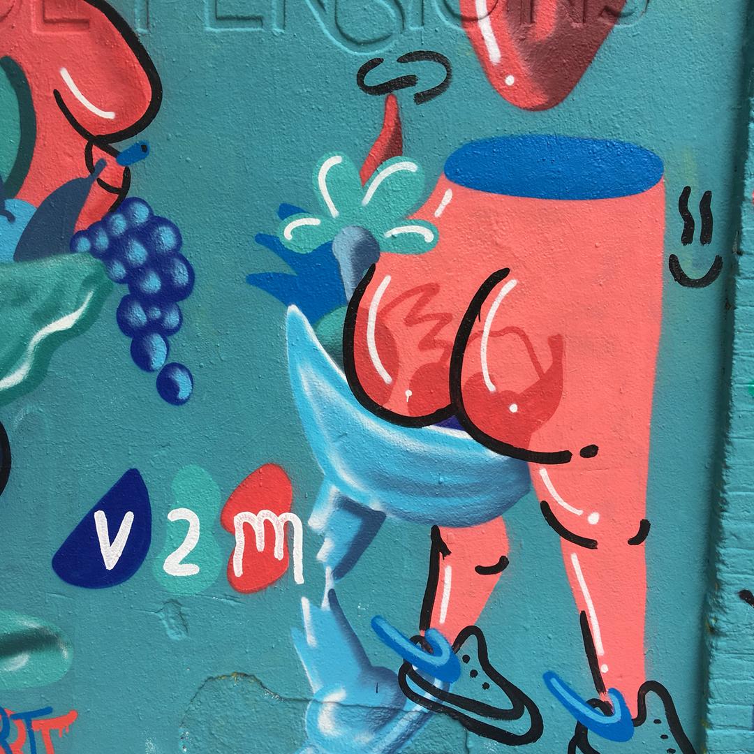 Wallspot - V2M -  - Barcelona - Selva de Mar - Graffity - Legal Walls -