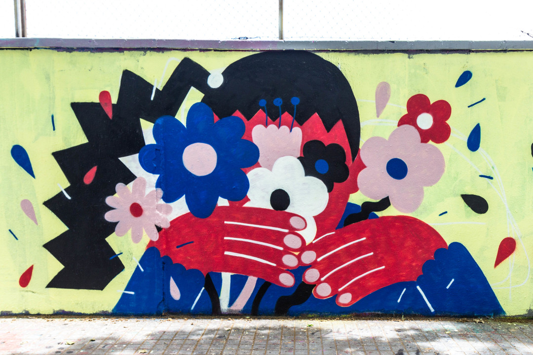 Wallspot - JOAN PIÑOL - JOAN PIÑOL - Projecte 12/06/2018 - Barcelona - Agricultura - Graffity - Legal Walls -  - Artist - Emily