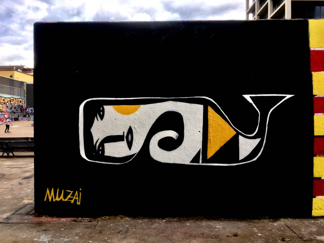 Wallspot - Muzai - Tres Xemeneies - Barcelona - Tres Xemeneies - Graffity - Legal Walls - Altres