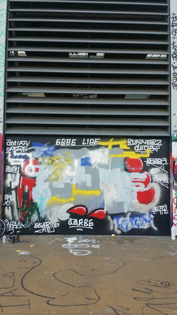 Wallspot - morise -  - Barcelona - Tres Xemeneies - Graffity - Legal Walls -