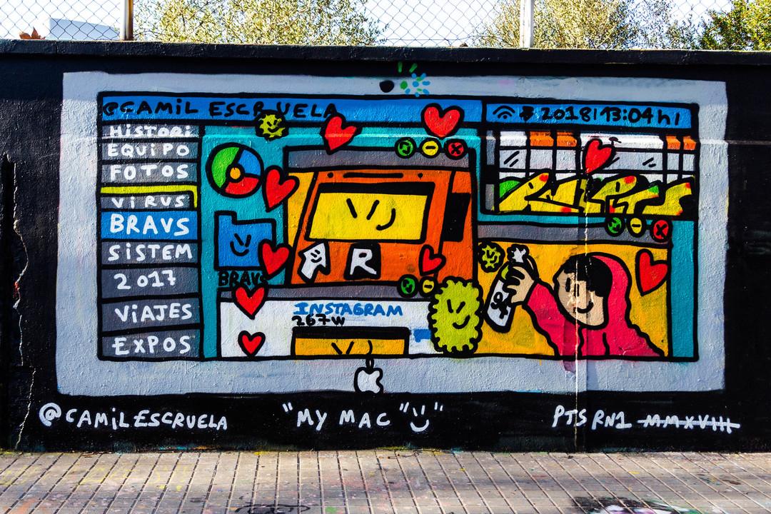 Wallspot - JOAN PIÑOL - JOAN PIÑOL - Projecte 15/06/2018 - Barcelona - Agricultura - Graffity - Legal Walls -