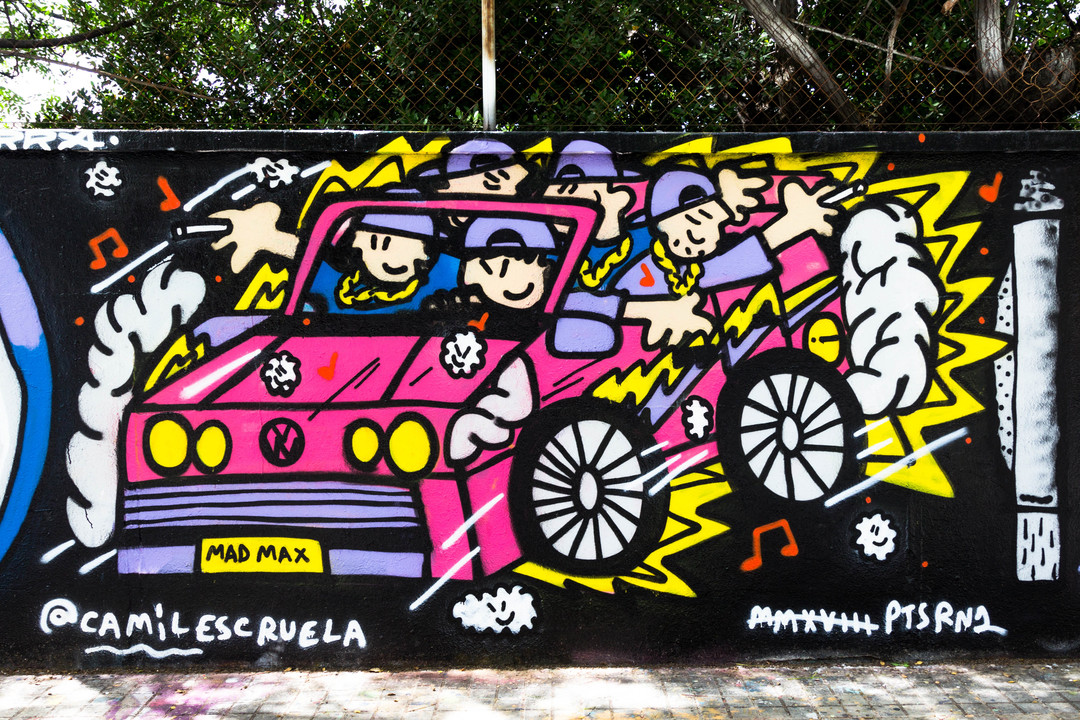 Wallspot - JOAN PIÑOL - JOAN PIÑOL - Projecte 15/06/2018 - Barcelona - Agricultura - Graffity - Legal Walls - Illustration - Artist - kamil escruela