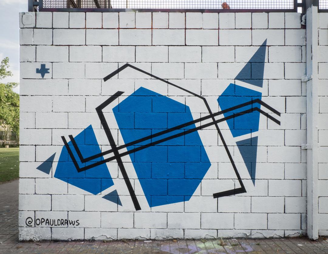 Wallspot - Ramo - Pez - RAMO - Drassanes - Barcelona - Drassanes - Graffity - Legal Walls - ,
