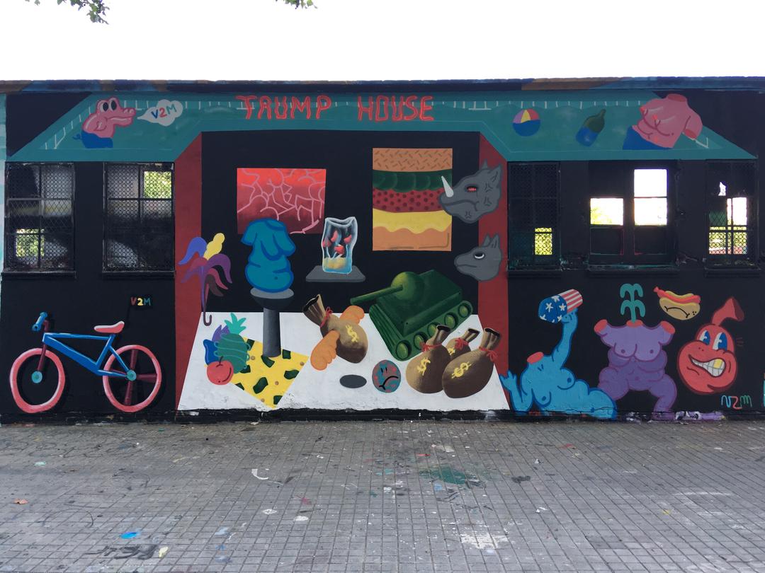 Wallspot - V2M - Selva de Mar - Barcelona - Selva de Mar - Graffity - Legal Walls - Illustration
