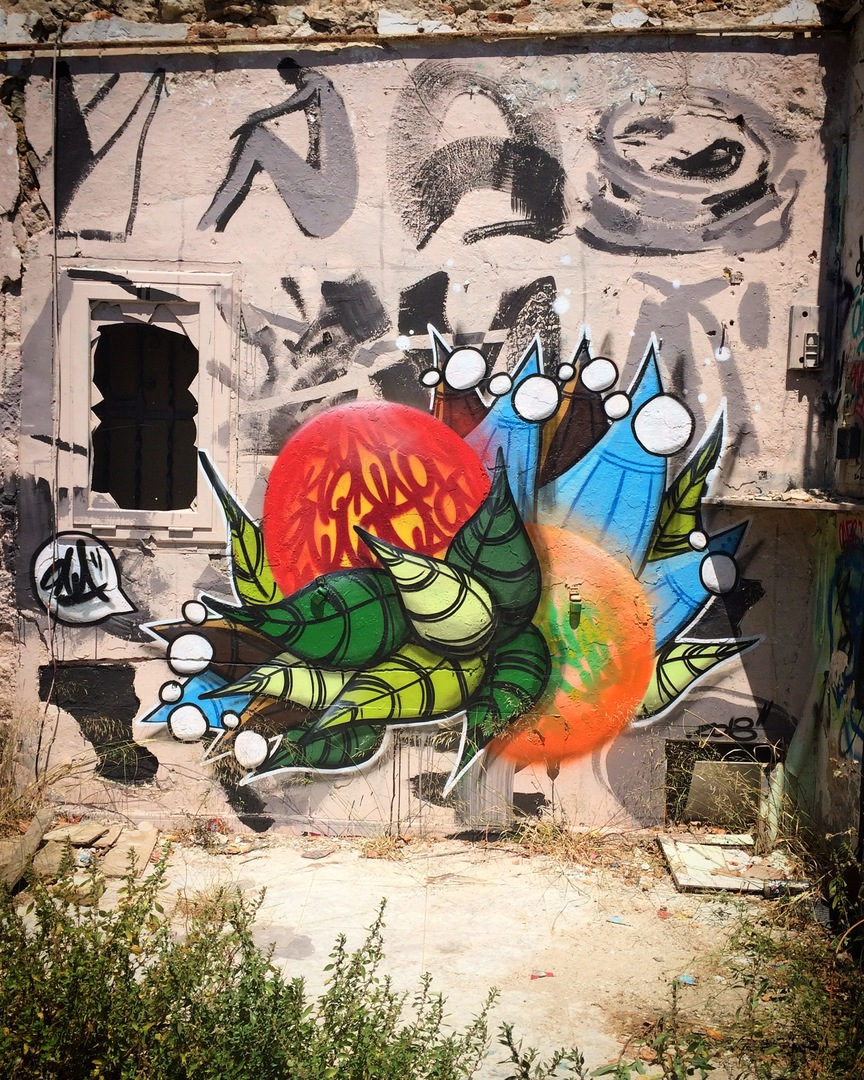Wallspot - ONA - Western Town - ONA - Barcelona - Western Town - Graffity - Legal Walls - ,