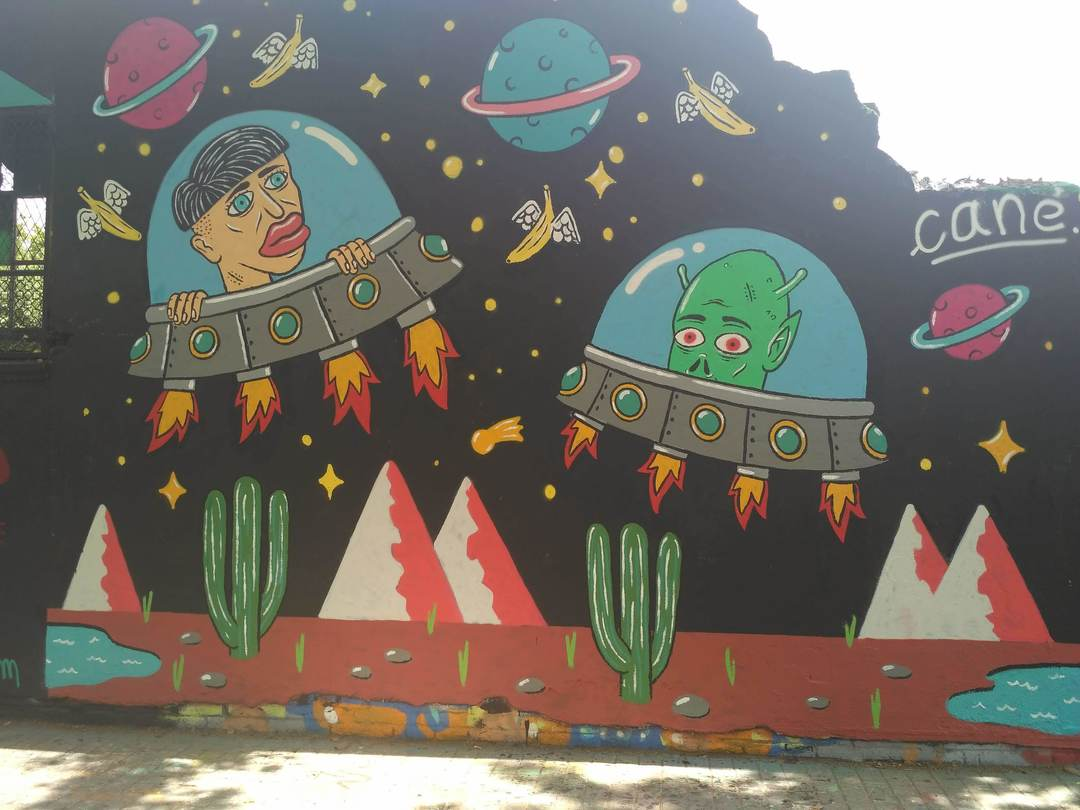 Wallspot - evalop - evalop - Proyecto 28/06/2018 - Barcelona - Agricultura - Graffity - Legal Walls - Il·lustració