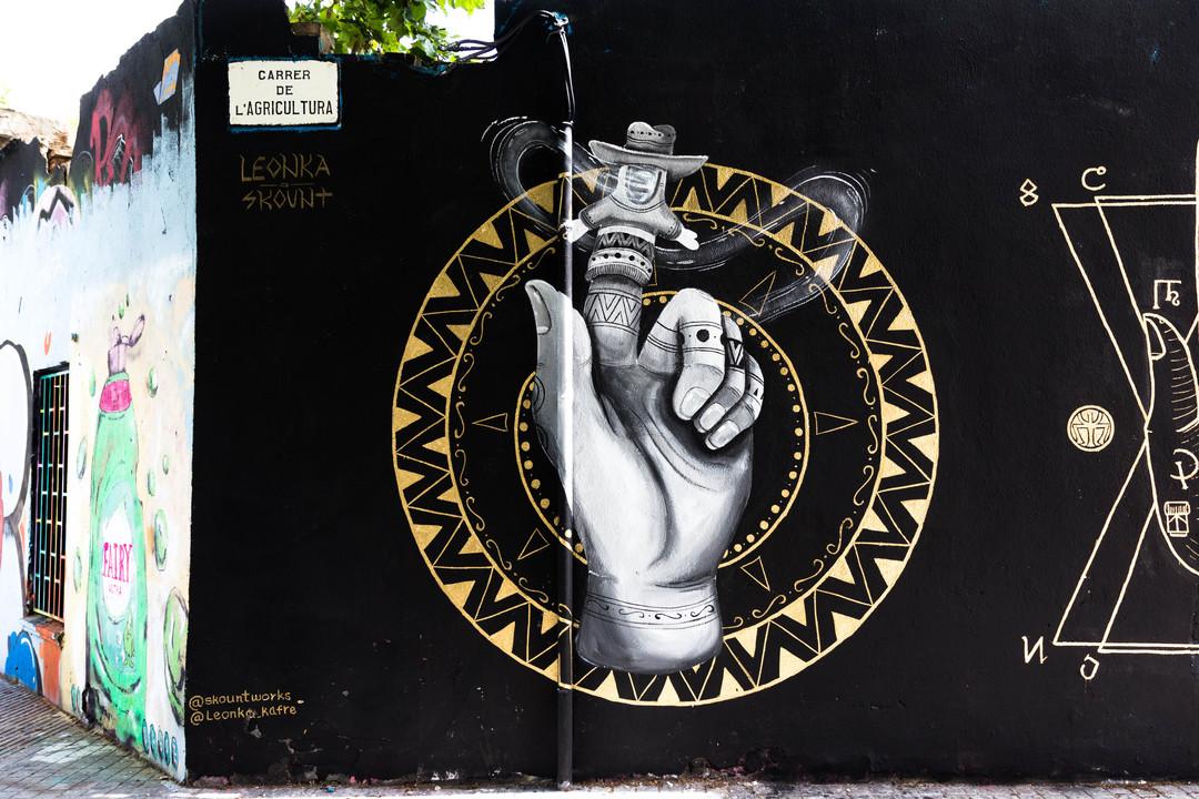 Wallspot - JOAN PIÑOL - JOAN PIÑOL - Projecte 29/06/2018 - Barcelona - Agricultura - Graffity - Legal Walls - Illustration