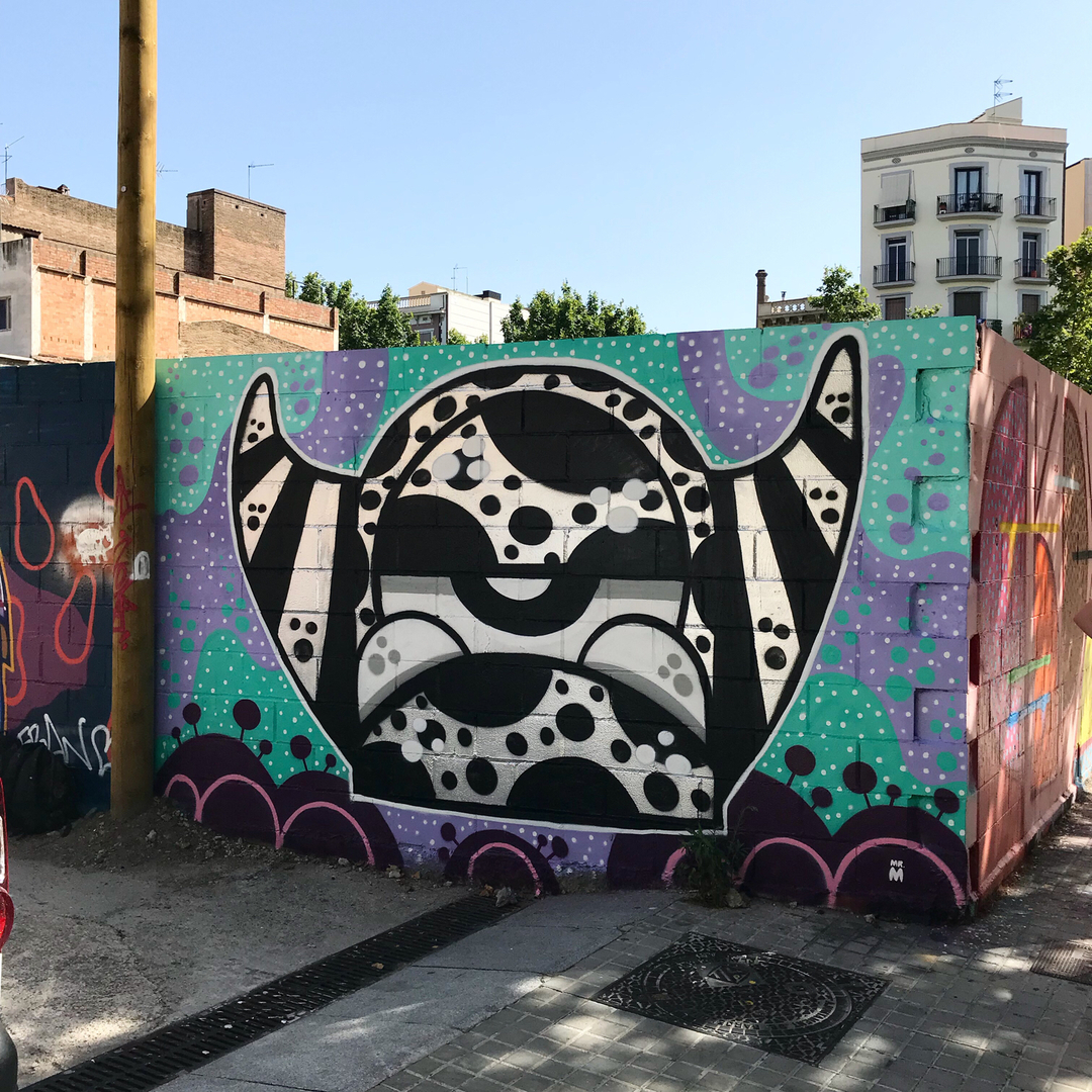 Wallspot - Mr.M -  - Barcelona - Poble Nou - Graffity - Legal Walls -