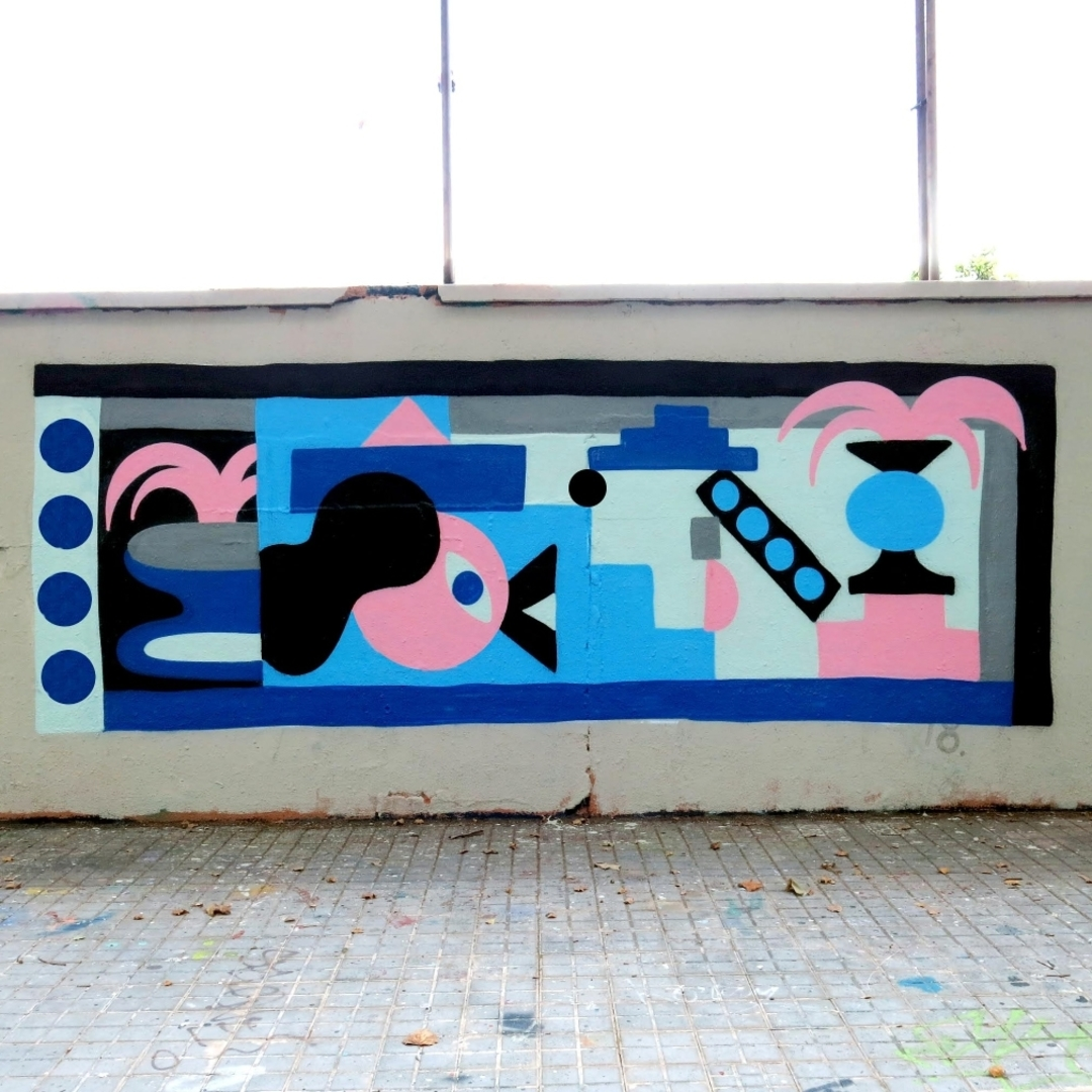 Wallspot - Osier Luther - Selva de Mar - Barcelona - Selva de Mar - Graffity - Legal Walls - Illustration