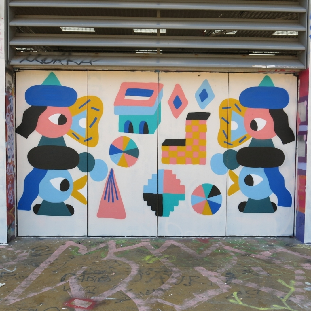 Wallspot - Osier Luther - Tres Xemeneies - Barcelona - Tres Xemeneies - Graffity - Legal Walls -