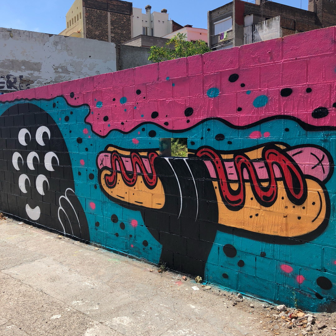 Wallspot - KMG -  - Barcelona - Poble Nou - Graffity - Legal Walls -