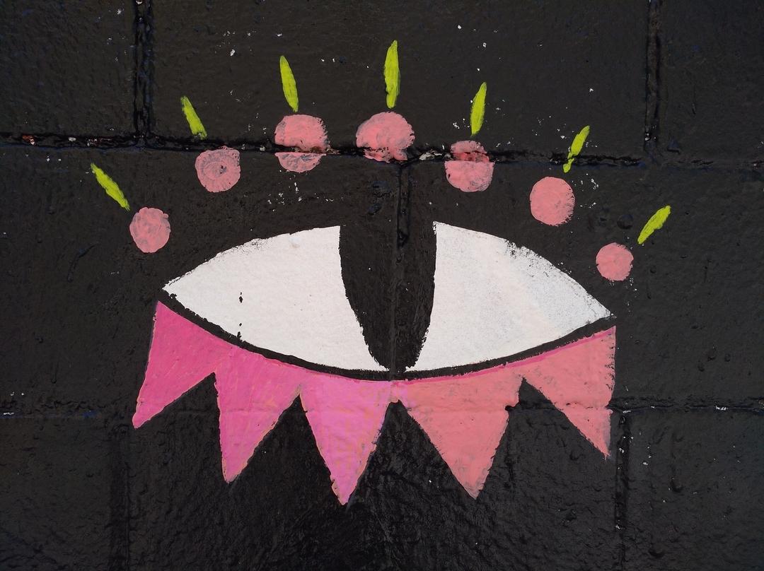 Wallspot - Anna Tó - Hellseherkatze - Barcelona - Poble Nou - Graffity - Legal Walls - Illustration