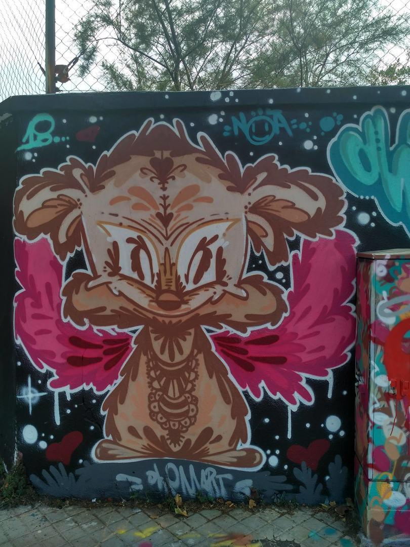 Wallspot - evalop - evalop - Project 08/07/2018 - Barcelona - Agricultura - Graffity - Legal Walls - Il·lustració - Artist - dhemart
