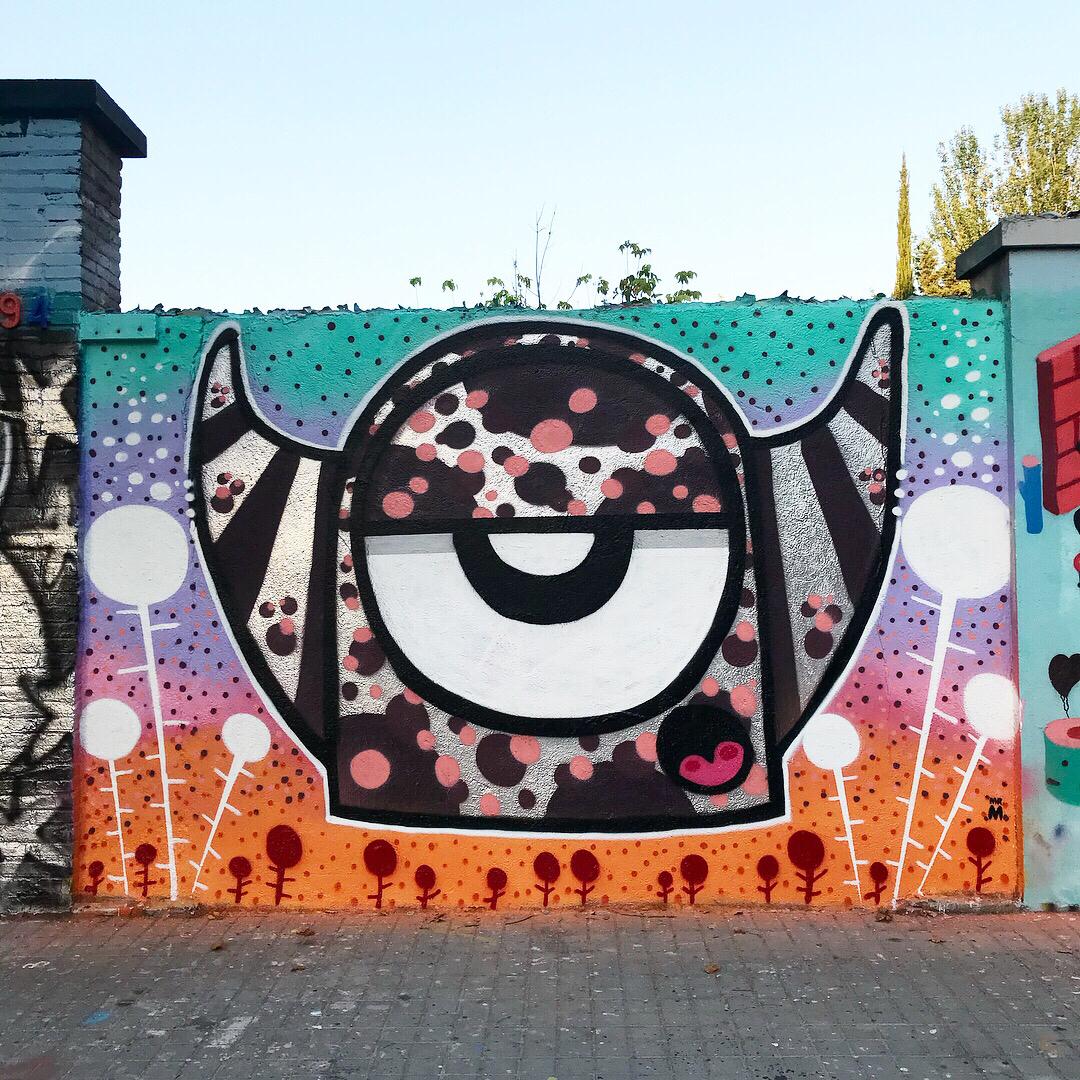 Wallspot - Mr.M -  - Barcelona - Agricultura - Graffity - Legal Walls -