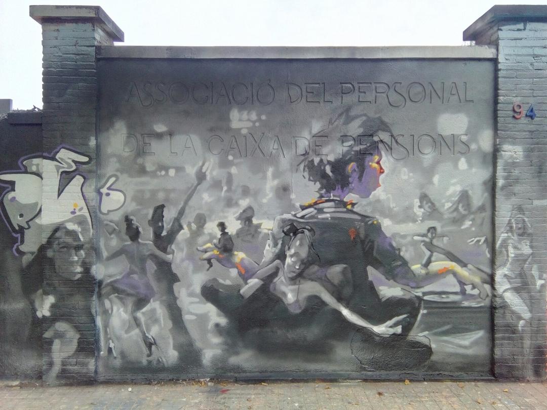 Wallspot - reb.mwc -  - Barcelona - Agricultura - Graffity - Legal Walls -