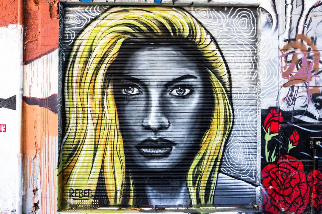 Wallspot - JOAN PIÑOL - REBEF - Barcelona - Western Town - Graffity - Legal Walls - Illustration