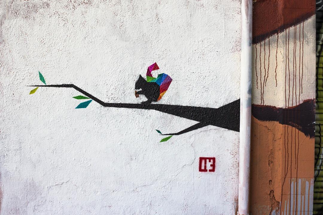 Wallspot - JOAN PIÑOL - OSNAM - ALBERT MANSO - Barcelona - Western Town - Graffity - Legal Walls - Illustration - Artist - OSNAM