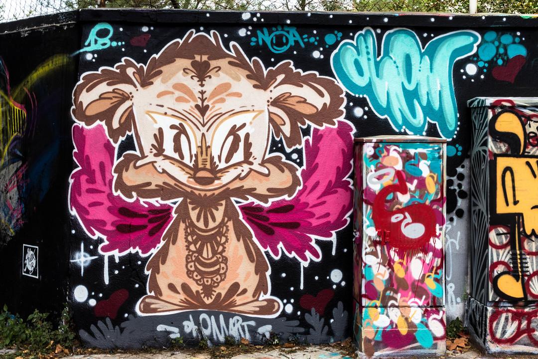 Wallspot - JOAN PIÑOL - JOAN PIÑOL - Projecte 11/07/2018 - Barcelona - Agricultura - Graffity - Legal Walls - Illustration