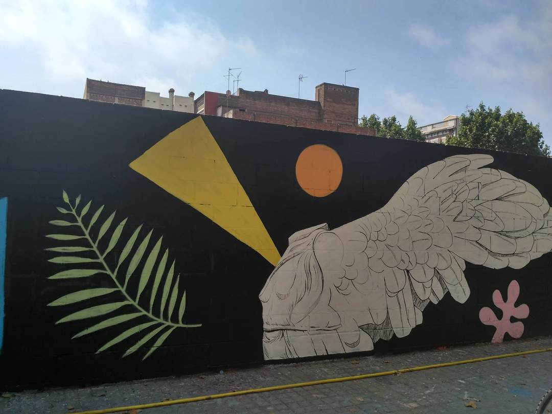 Wallspot - evalop - evalop - Project 11/07/2018 - Barcelona - Poble Nou - Graffity - Legal Walls - Illustration
