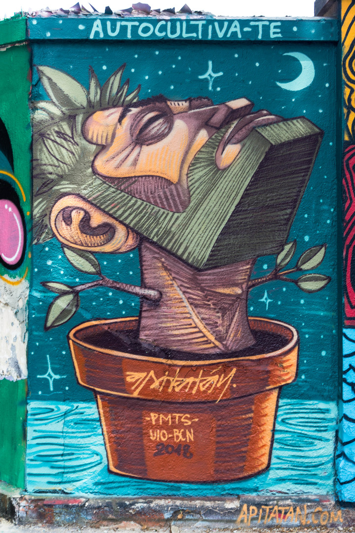 Wallspot - JOAN PIÑOL - APITATAN - Barcelona - Agricultura - Graffity - Legal Walls - Illustration