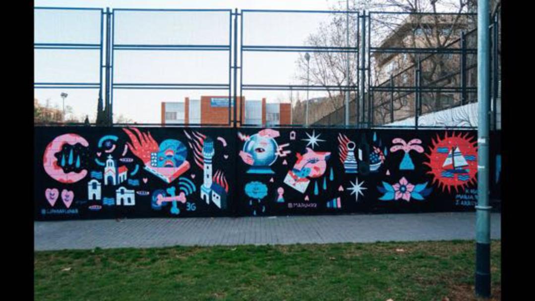 Wallspot - Maruhrz - Stuff - Barcelona - Drassanes - Graffity - Legal Walls - Illustration
