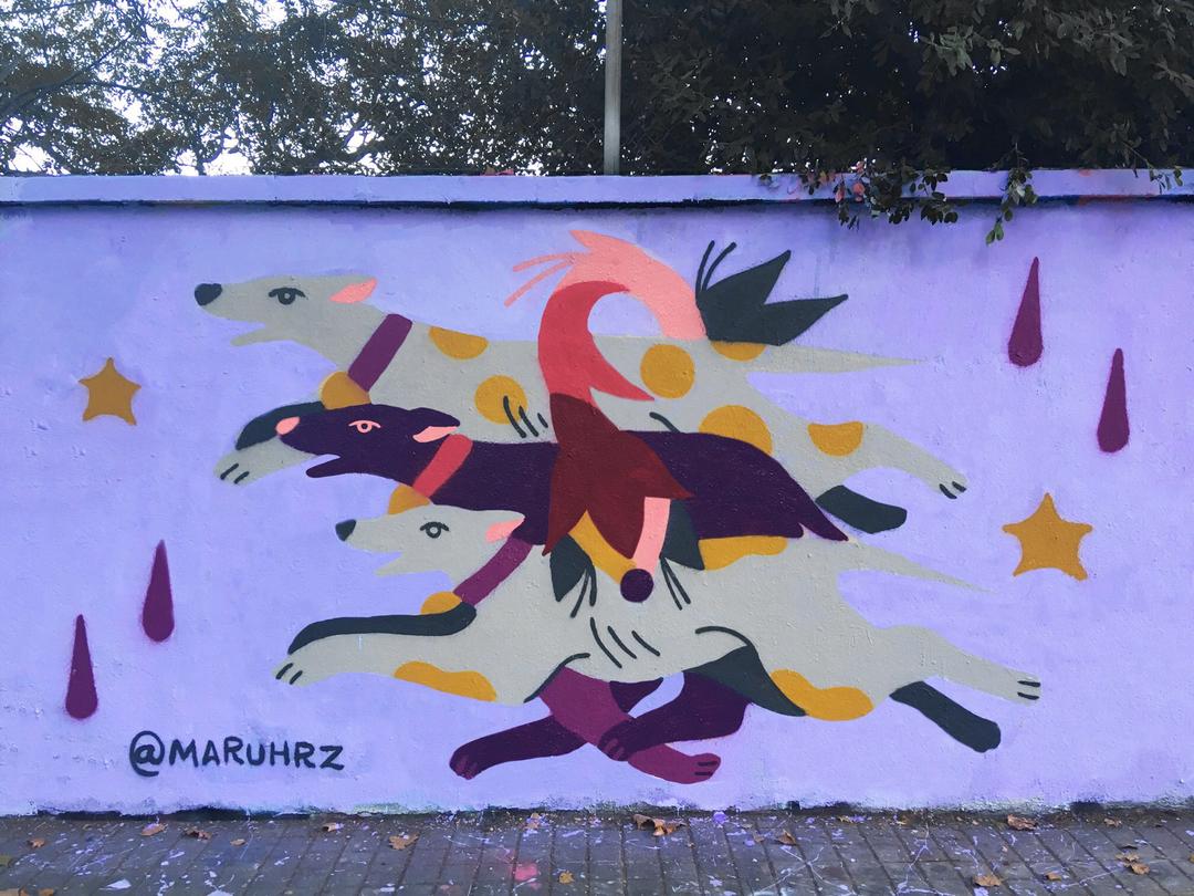 Wallspot - Maruhrz - Fantasía - Barcelona - Agricultura - Graffity - Legal Walls - Illustration, Others