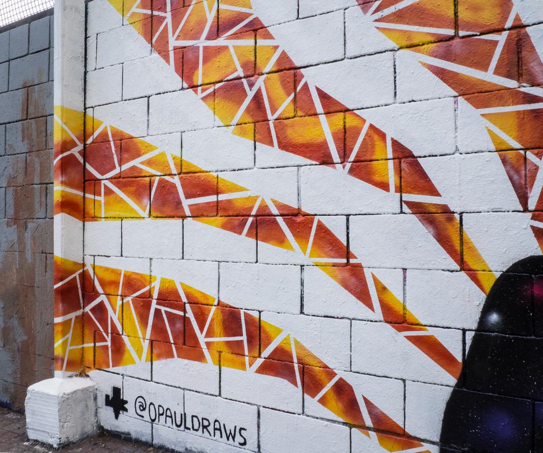 Wallspot - Ramo - Anubis - RAMO & KSK1 & ANNEARTIG - Drassanes - Barcelona - Drassanes - Graffity - Legal Walls - ,