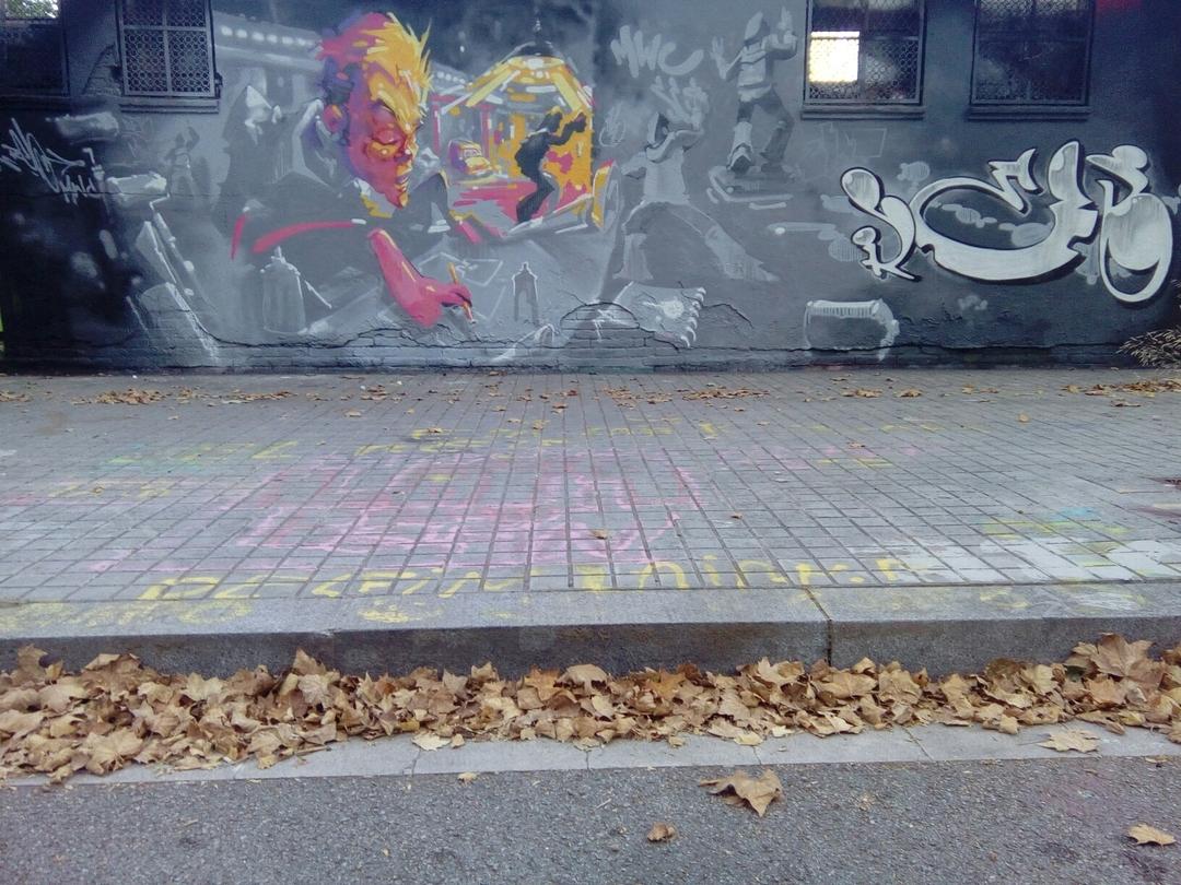 Wallspot - reb.mwc -  - Barcelona - Agricultura - Graffity - Legal Walls - Lletres, Il·lustració