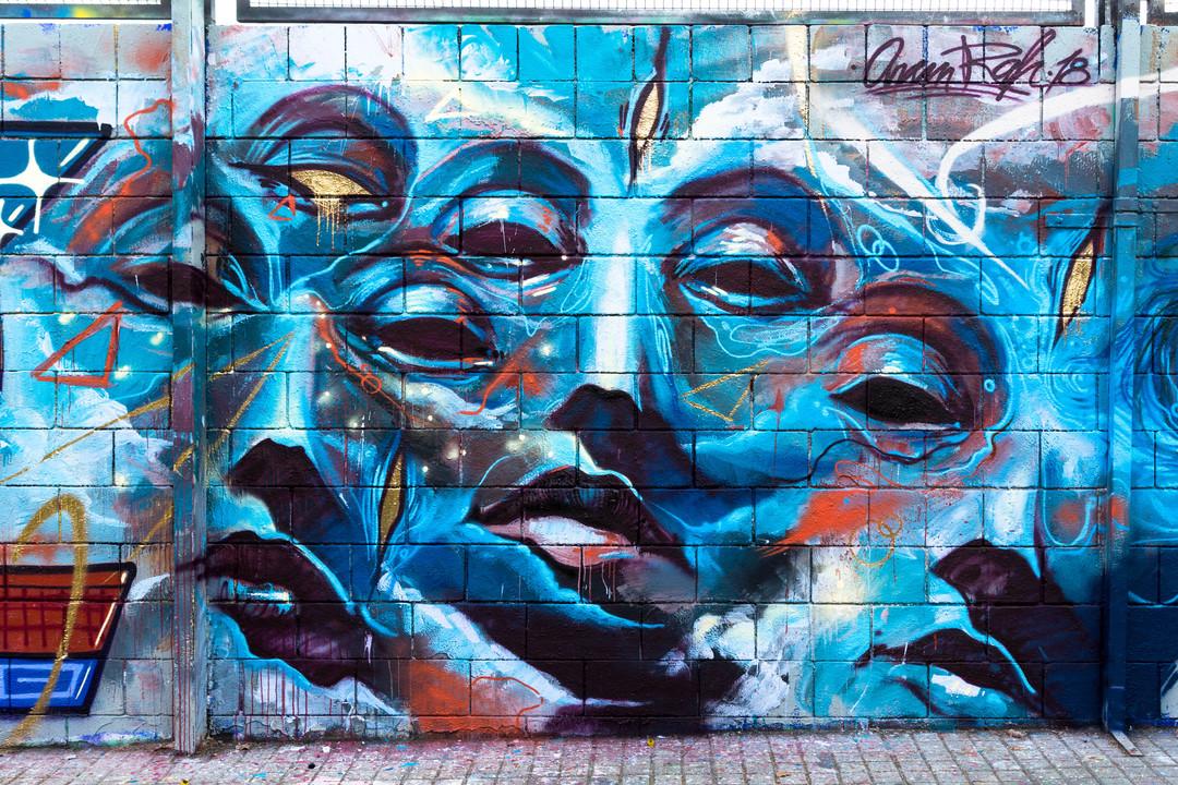 Wallspot - JOAN PIÑOL - ARAM RAH - Barcelona - Drassanes - Graffity - Legal Walls -  - Artist - Aram'rah