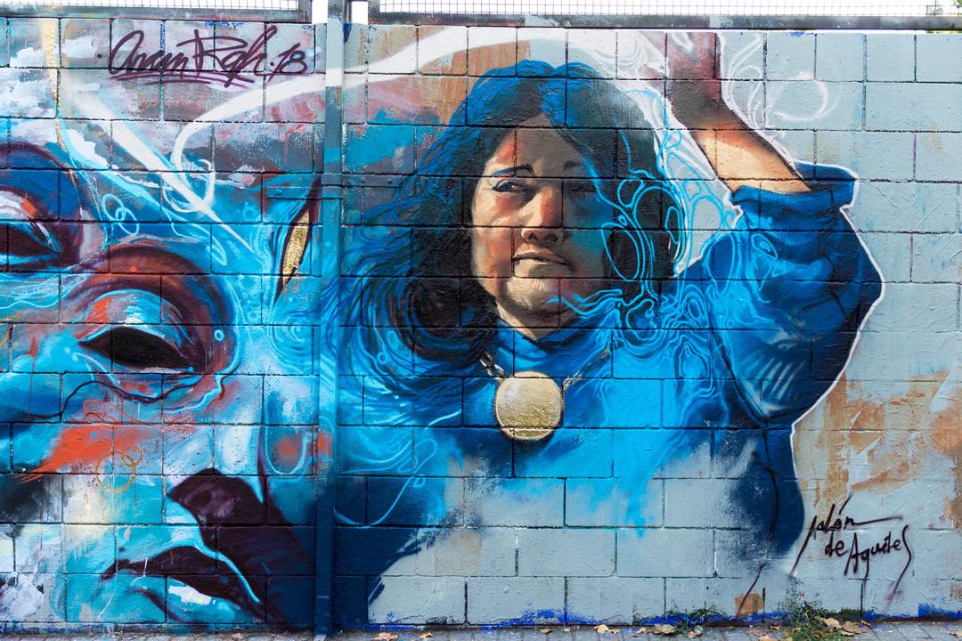 Wallspot - JOAN PIÑOL - JALON DE AQUILES - Barcelona - Drassanes - Graffity - Legal Walls -  - Artist - Jalón de Aquiles