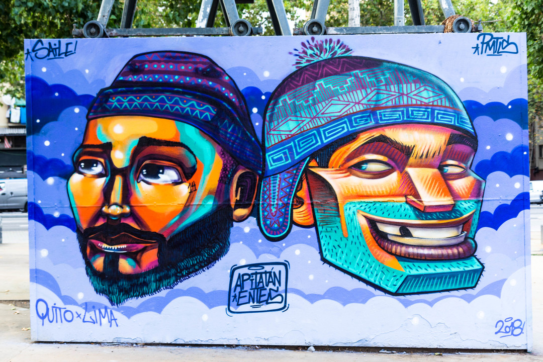 Wallspot - JOAN PIÑOL - APITATAN - Barcelona - Tres Xemeneies - Graffity - Legal Walls -