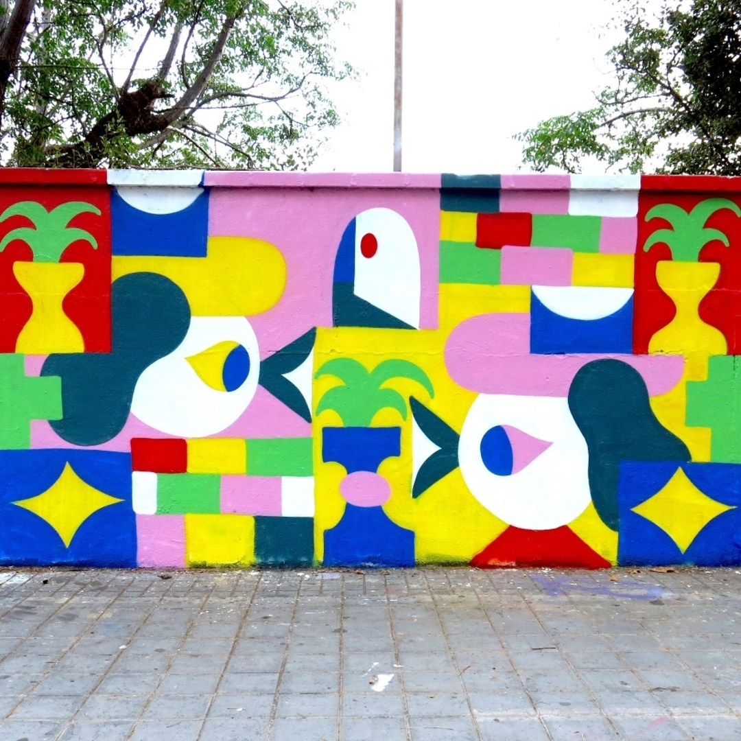 Wallspot - Osier Luther - solo - Barcelona - Agricultura - Graffity - Legal Walls -