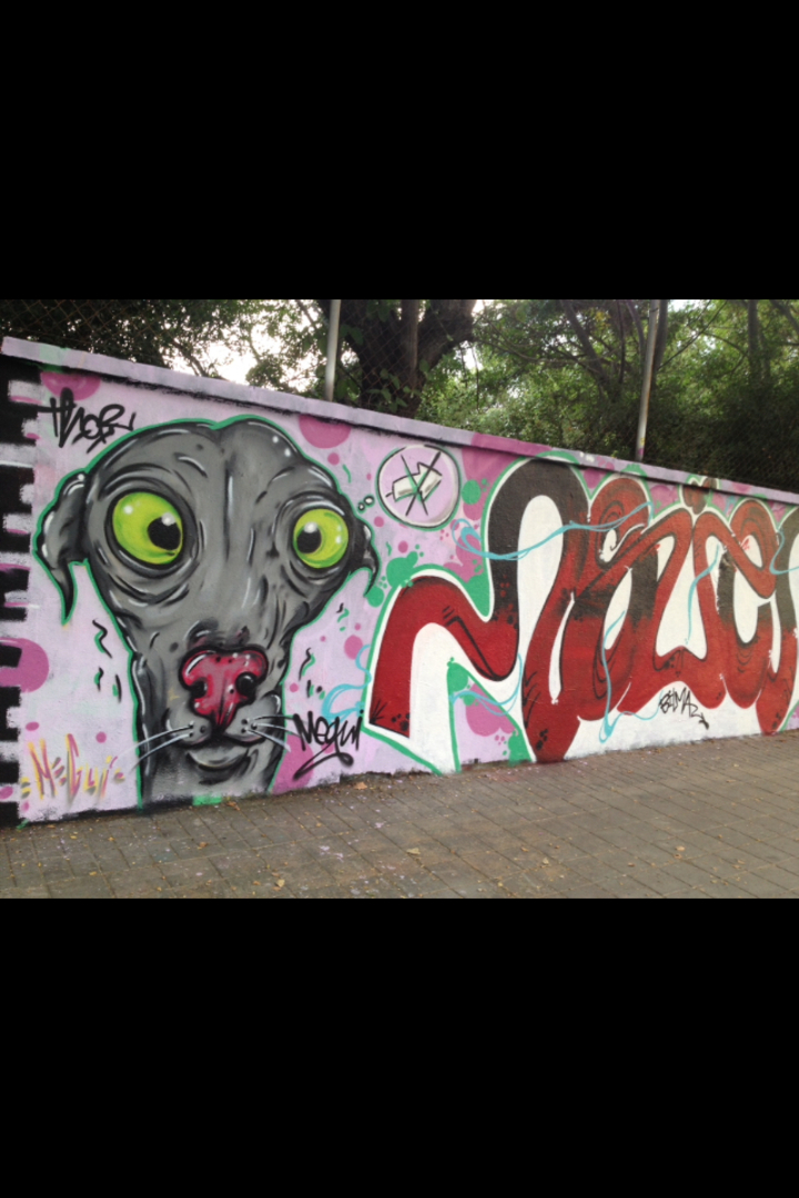 Wallspot - MEGUI -  - Barcelona - Agricultura - Graffity - Legal Walls -