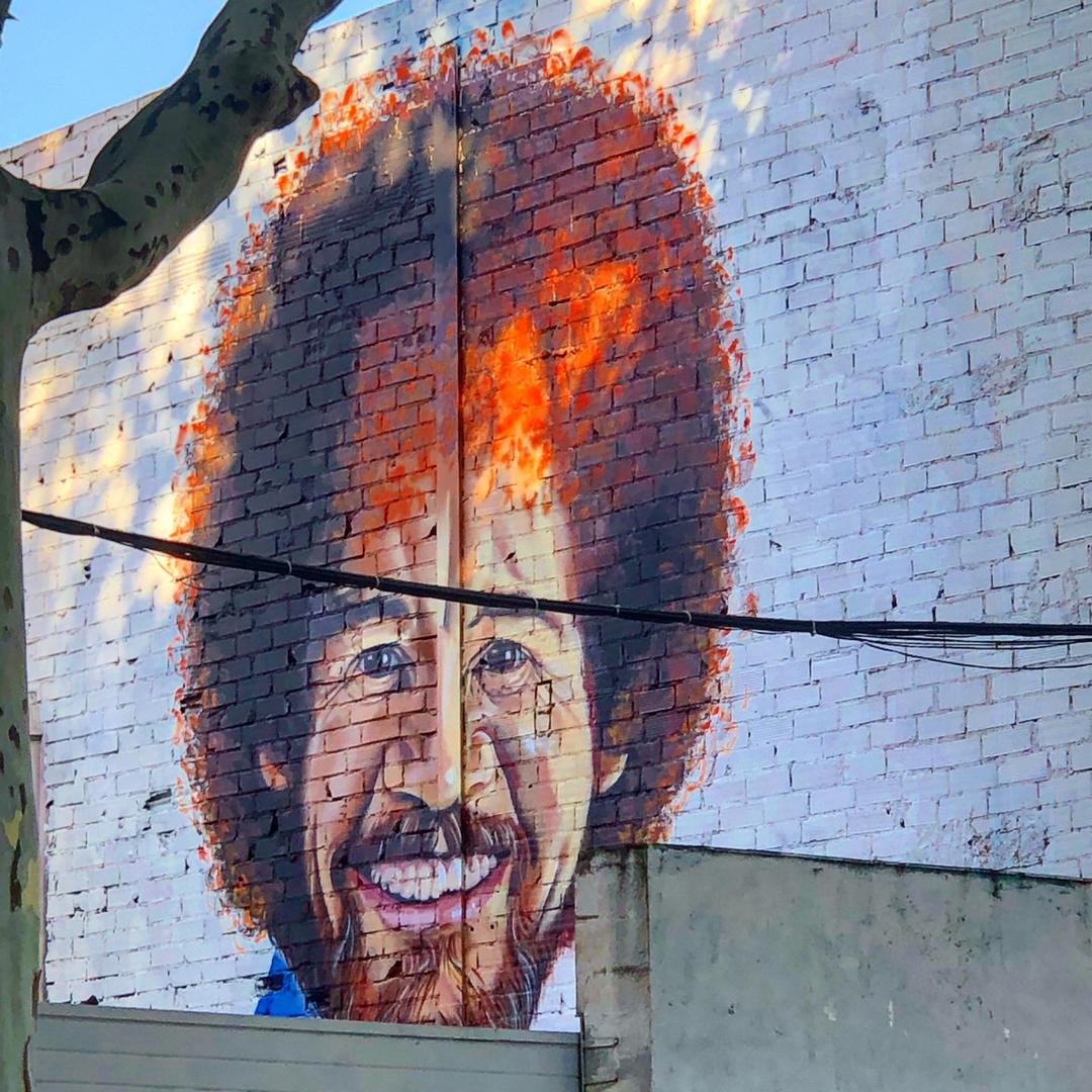 Wallspot - BCN Urban Art - Manu Manu en Nau Art  - Barcelona - Poble Nou - Graffity - Legal Walls - Il·lustració - Artist - manumanu