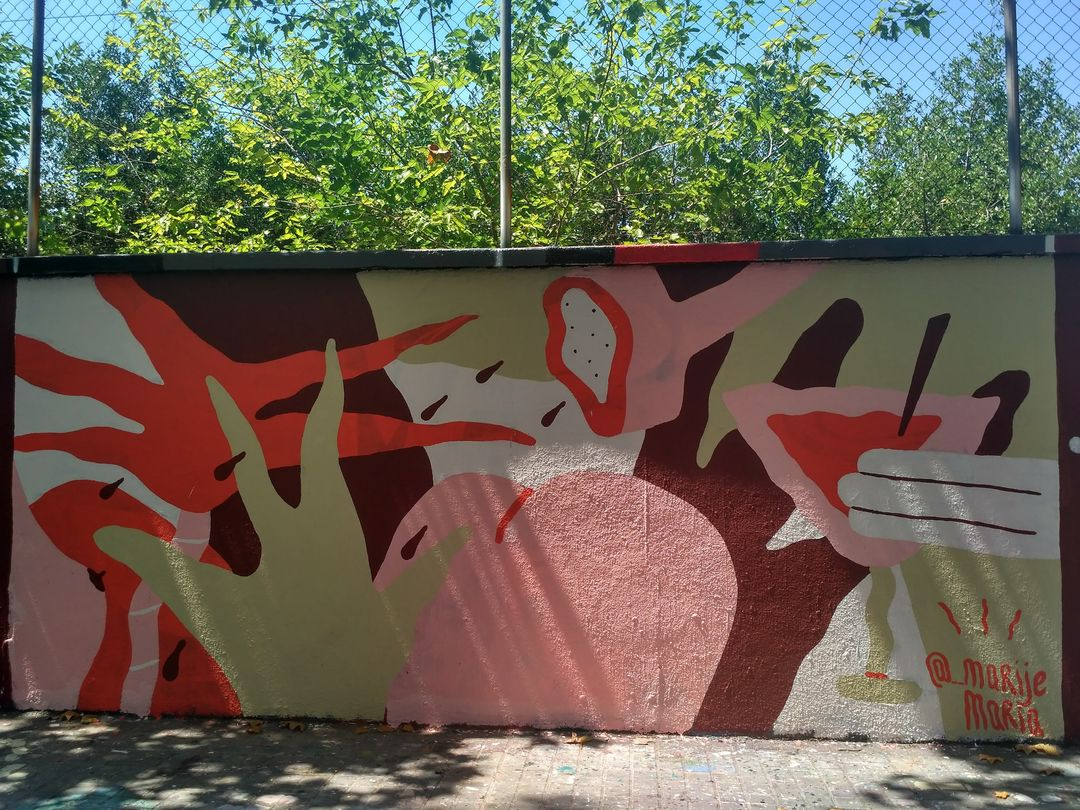 Wallspot - evalop - evalop - Project 19/07/2018 - Barcelona - Agricultura - Graffity - Legal Walls - Il·lustració