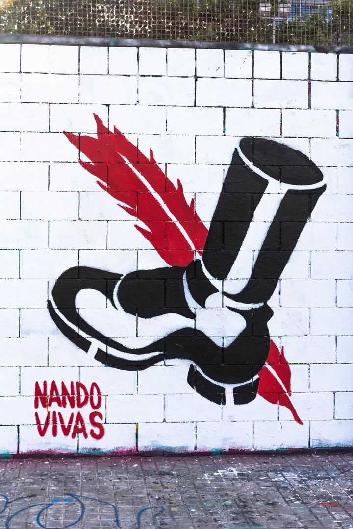 Wallspot - JOAN PIÑOL - NANDO VIVAS - Barcelona - Drassanes - Graffity - Legal Walls - Illustration - Artist - Nando Vivas