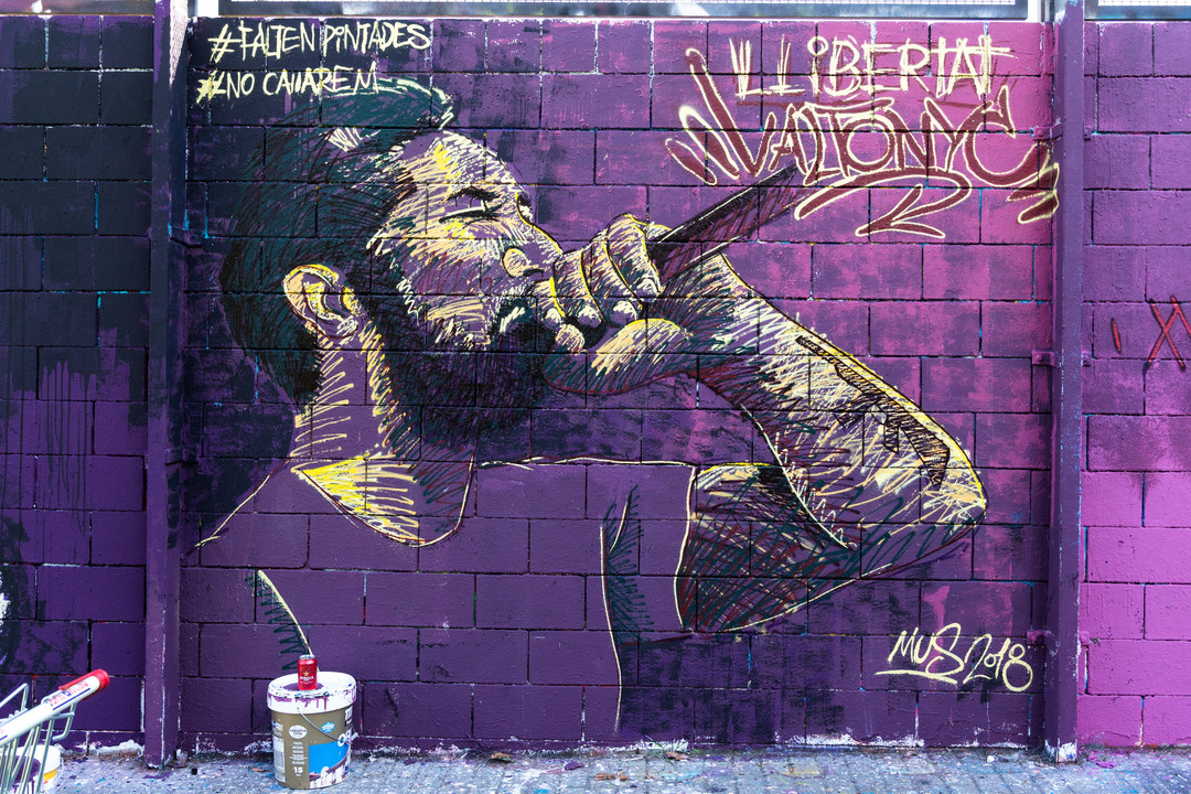 Wallspot - JOAN PIÑOL - MUS 2018 - Barcelona - Drassanes - Graffity - Legal Walls - Illustration