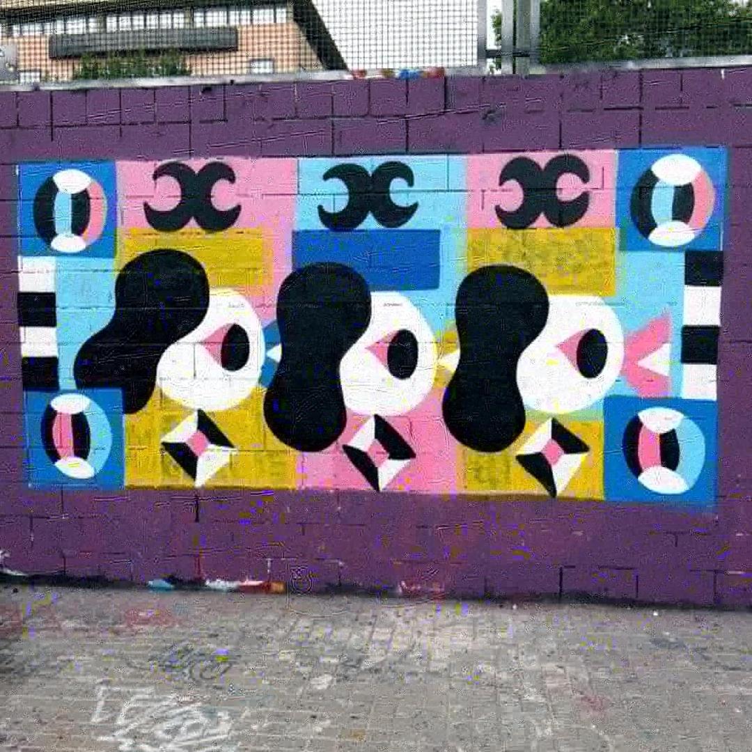 Wallspot - Osier Luther - Yarik - Barcelona - Drassanes - Graffity - Legal Walls -