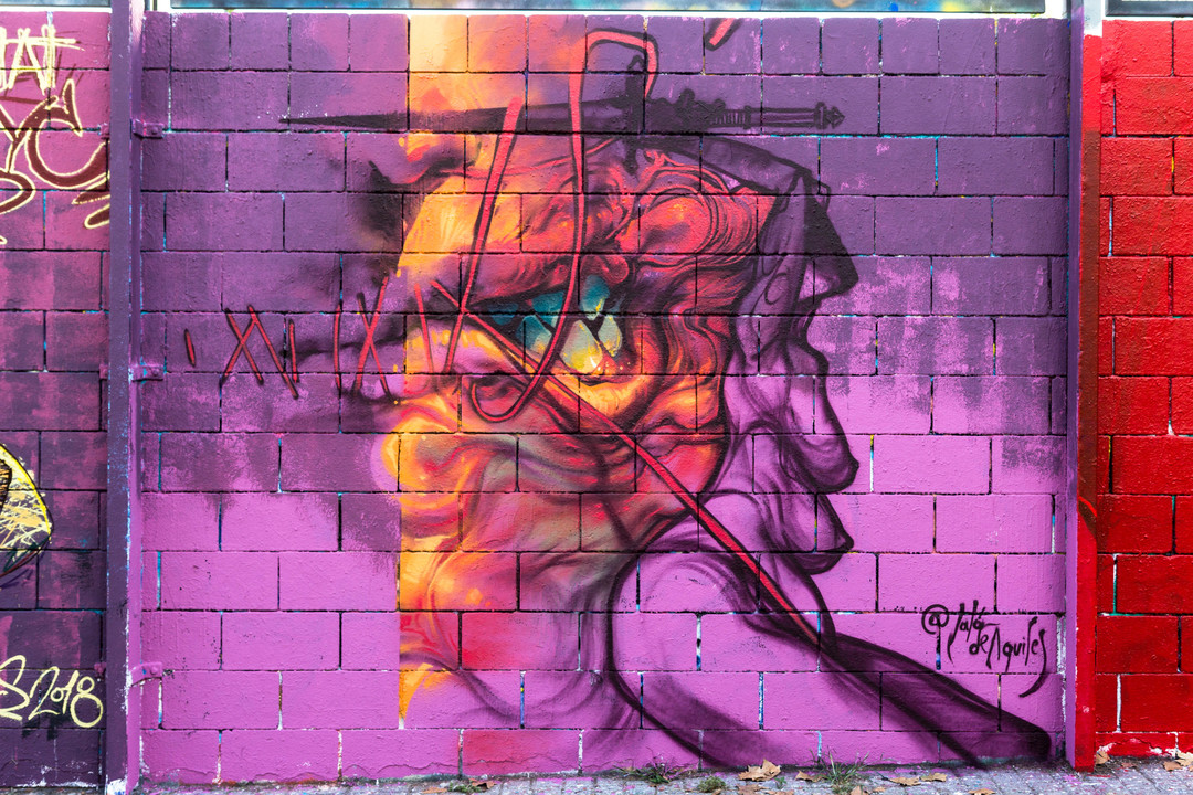 Wallspot - JOAN PIÑOL - JALON DE AQUILES - Barcelona - Drassanes - Graffity - Legal Walls - Illustration - Artist - Jalón de Aquiles