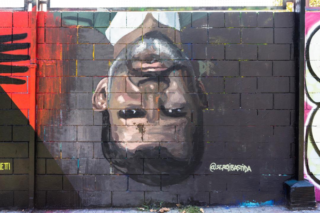 Wallspot - JOAN PIÑOL - SERGI BASTIDA - Barcelona - Drassanes - Graffity - Legal Walls - Illustration - Artist - sergibastida