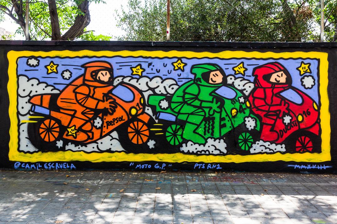 Wallspot - JOAN PIÑOL - CAMIL ESCRUELA - Barcelona - Agricultura - Graffity - Legal Walls - Illustration - Artist - kamil escruela