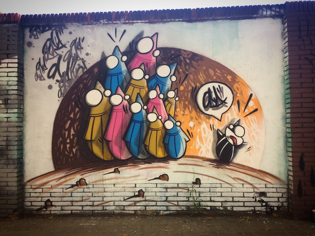 Wallspot - ONA - Selva de Mar - ONA - Barcelona - Selva de Mar - Graffity - Legal Walls - Letters, Illustration, Others