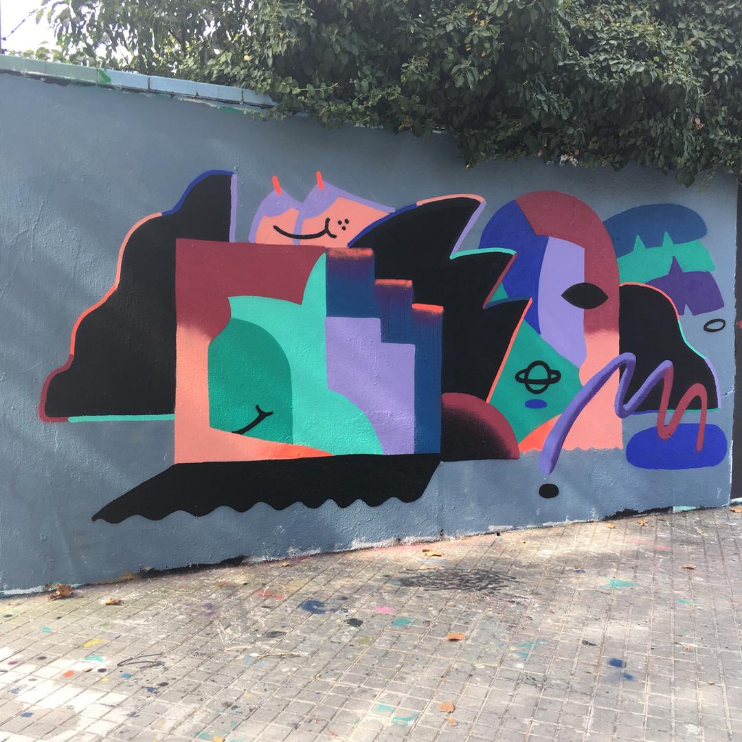 Wallspot - V2M -  - Barcelona - Agricultura - Graffity - Legal Walls -