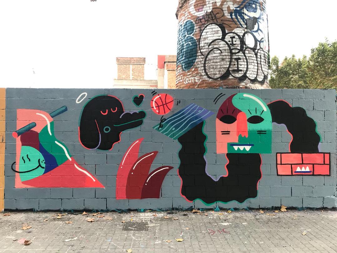 Wallspot - V2M -  - Barcelona - Poble Nou - Graffity - Legal Walls -