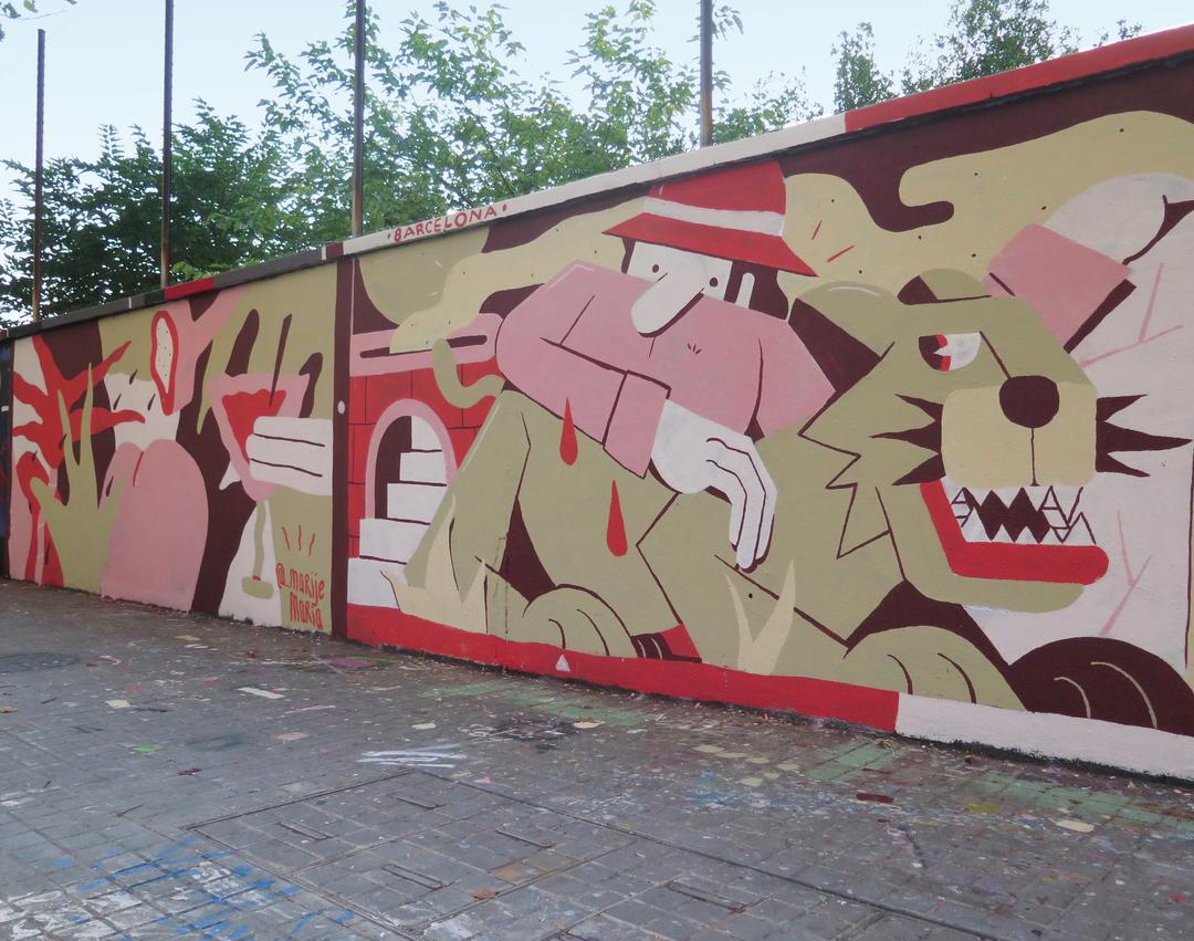 Wallspot - Fernando Leon - Agricultura - Fernando Leon - Barcelona - Agricultura - Graffity - Legal Walls - Illustration
